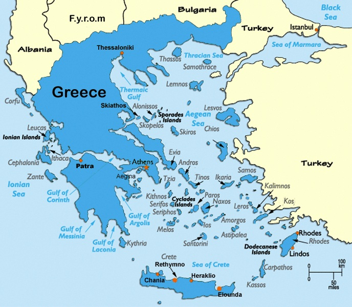 Outline of ancient Greece