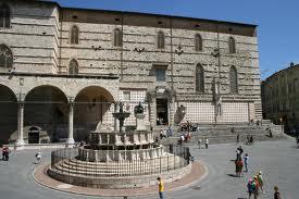 Perugia - Fontanna Maggiore w Perugii