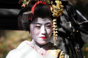 Japonia - Gejsza