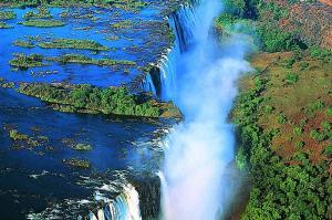 Zimbabwe - Wodospad Wiktorii