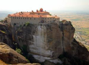 Grecja - Meteory - klasztory greckie