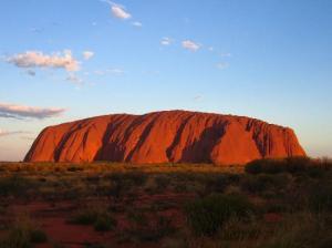 Australia - Uluru święta góra Aborygenów