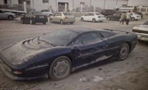 Dubaj - Porzucone samochody w Dubaju