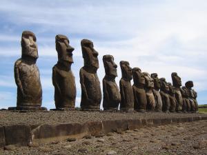 Chile - Wyspa Wielkanocna