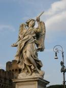 Rzym Anioł na moście św. Anioła