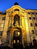 Monachium Kościół Świętego Jana Nepomucena
