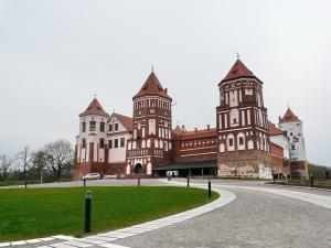 Białoruś - Zamek w Mirze