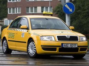 Czechy - Taksówki w Czechach