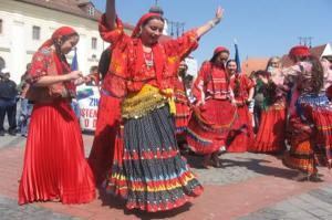 Rumunia - Romowie w Rumunii