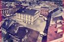 Lublin Widok na z wieży trynitarskiej