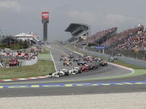 Hiszpania - Tory Formuły 1 w Hiszpanii