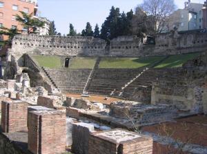 Triest - Teatr Rzymski w Trie�cie