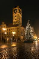 Toruń Ratusz nocą