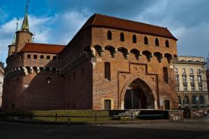 Kraków - Krakowski Barbakan