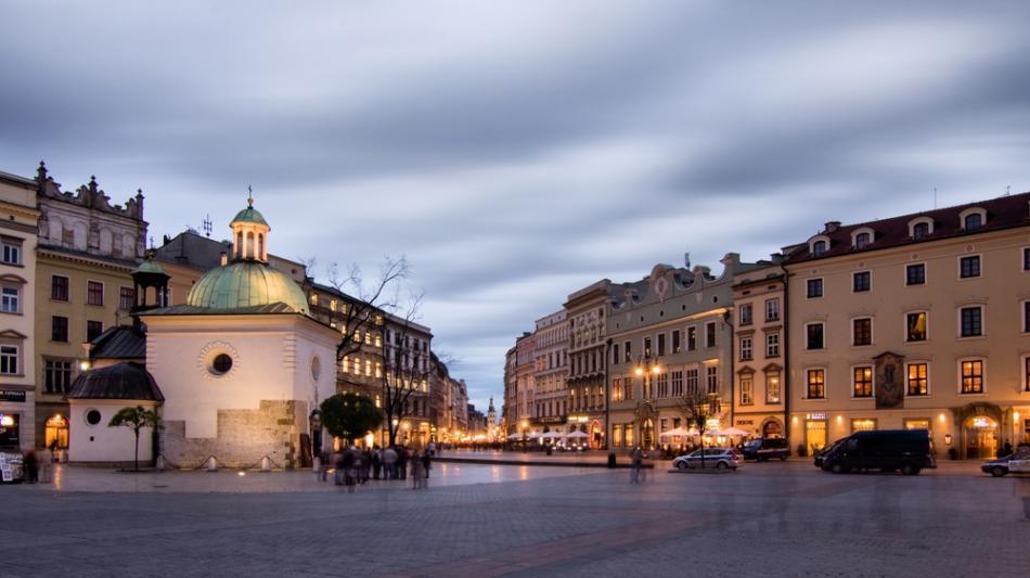 Kamienice wokół Rynku - Od placu Mariackiego do Grodzkiej