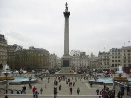 Londyn - Trafalgar Square