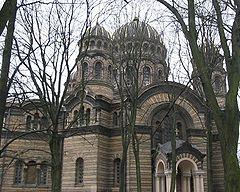 Ryga - Katedralna Cerkiew pod wezwaniem Narodzenia Pańskiego