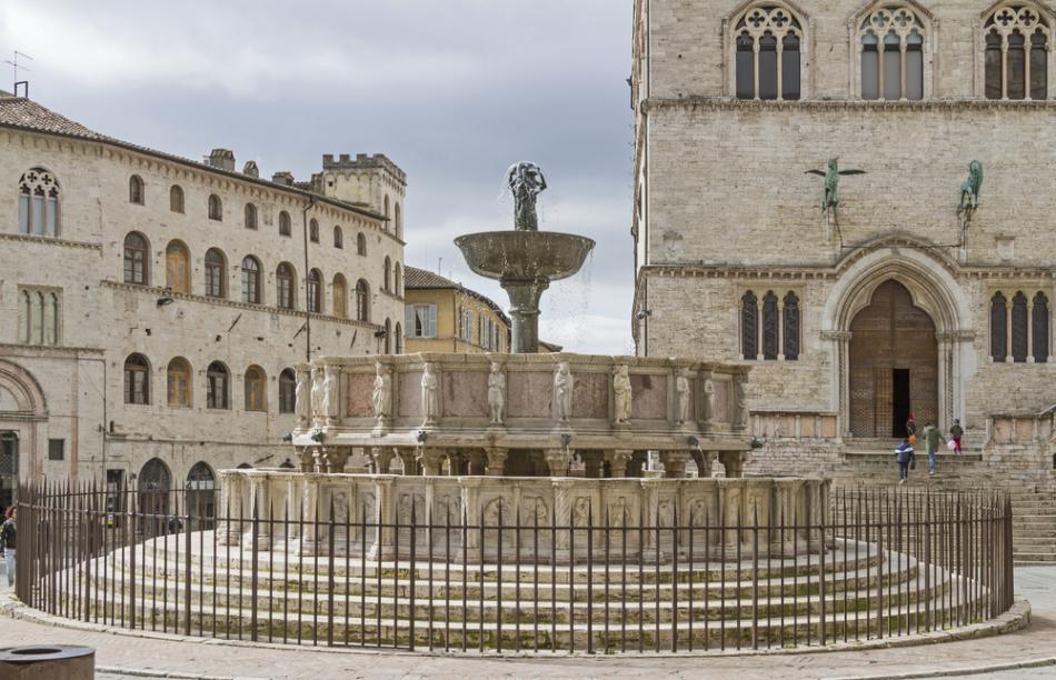 Fontanna Maggiore w Perugii