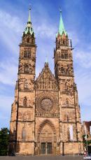 Norymberga Kościół Św. Wawrzyńca w Norymberdze