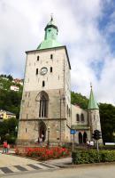 Bergen Katedra św. Olafa jest siedzibą diecezji Bjorgvin.