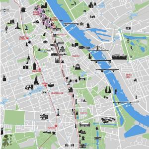 Warszawa - Warszawa mapa zabytków