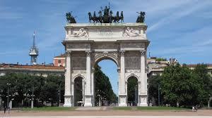 Mediolan - �uk triumfalny w Mediolanie