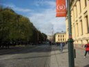Oslo Najbardziej znana ulica w Oslo: Karl Johans gate