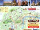 Londyn - Londyn mapa zabytków