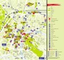 Lublana - Lublana mapa zabytków