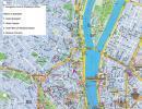 Budapeszt - Budapeszt mapa zabytków