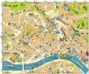 Liege - Liege mapa zabytków