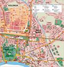 Split - Split mapa zabytków