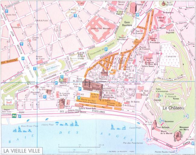 Nicea mapa zabytków