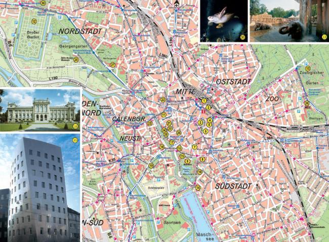 Hanower mapa zabytków