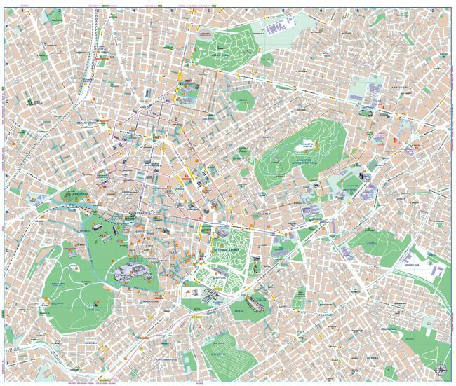 Ateny mapa zabytków
