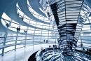 Berlin Reichstag wnetrze