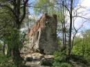 Lwów Ruiny Wysokiego zamku