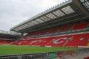 Liverpool Anfield Road - stadion pilkarski Liverpoola
