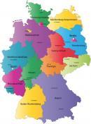 Niemcy - Niemcy Mapa