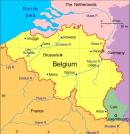 Belgia - Belgia mapa