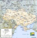 Ukraina - Ukraina mapa