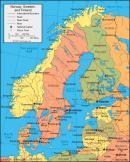 Norwegia - Norwegia mapa