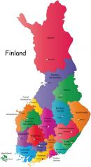 Finlandia - Finlandia mapa