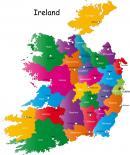 Irlandia - Irlandia mapa