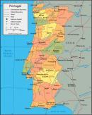 Portugalia - Portugalia mapa