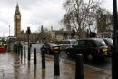 Londyn Londyn, Big Ben i Parlament, po prawej Westminster Abbey
