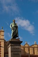 Kraków Pomnik Adama Mickiewicza, fot. Piotr Dudak