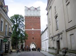 Sandomierz - Brama Opatowska w Sandomierzu