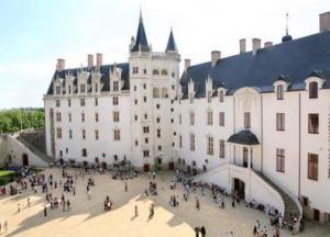 Nantes - Zamek książąt Bretanii