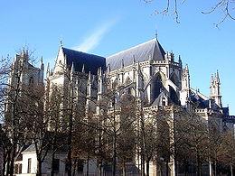 Nantes - Katedra Św. Piotra i Pawła w Nantes